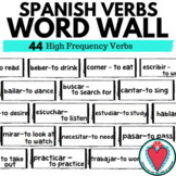 Spanish Verbs - Spanish Word Wall - 44 Spanish High Freque