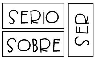 Spanish Word Wall/ Muro de palabras