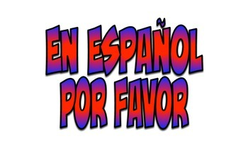 Spanish Word Wall: Must Have Basic and Advanced Phrases (Red & Blue)