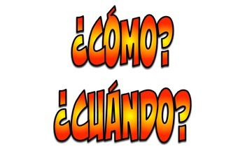 Spanish Word Wall: Must Have Basic and Advanced Phrases (Red & Yellow)