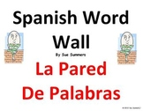 Spanish Word Wall Opinions and Survival Language Classroom Signs