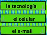 Spanish Word Wall - Technology