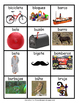 Spanish Word Wall Words - ABCD