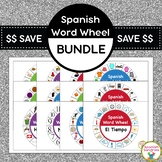 Spanish Word Wheel Bundle