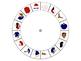 Spanish Word Wheel:  The Body (El Cuerpo)