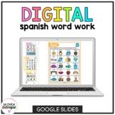 Spanish Word Work | Google Classroom™