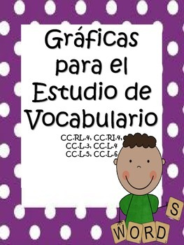 Bilingual Word Work Graphic Organizers - CCSS Aligined Packet in Spanish
