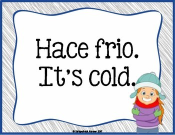 Spanish Word of the Day - Weather