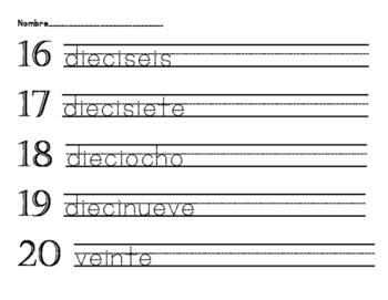 Spanish Words 11-20