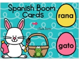 Spanish Words Boom Cards
