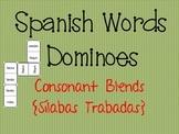 Spanish Words Dominoes {Consonant Blends / Sílabas Trabadas}