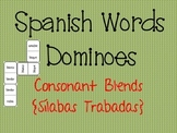 Spanish Words Dominoes {Consonant Blends / Sílabas Trabadas}