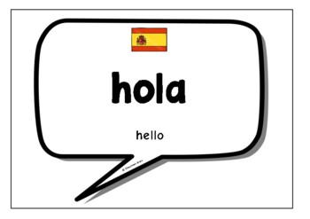 Spanish Words & Phrases