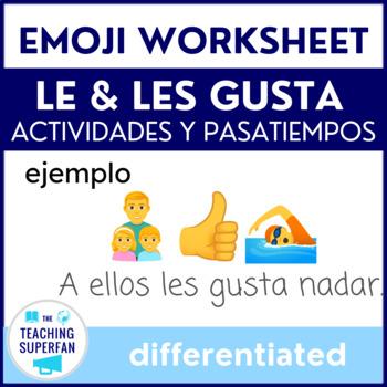 Le gusta Practice with Emojis - Actividades y Pasatiempos