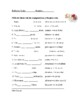 Spanish Reflexive Verbs Worksheet ~ Los verbos reflexivos