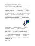 Imperfect Tense Spanish Worksheet - Imperfecto (SUB PLAN)