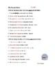 Spanish Present Perfect Tense Worksheet - Presente de perfecto (SUB PLAN)