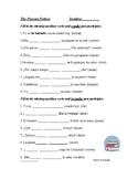 Spanish Present Perfect Tense Worksheet - Presente de perf
