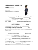 Ser or Estar Spanish Worksheet (Differentiated Cloze Activity)