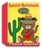 Spanish Worksheets for Kindergarten (100 Worksheets)