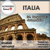Spanish Worksheets:  Italia. Educación temprana. A partir de 3-4 años.