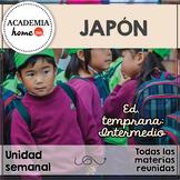 Spanish Worksheets: Japón. Educación temprana. A partir de 3-4 años.
