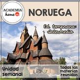 Spanish Worksheets: Noruega. Educación temprana. A partir de 3-4 años.