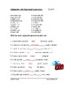 Spanish Impersonal Expressions Worksheet with subjunctive - El subjuntivo