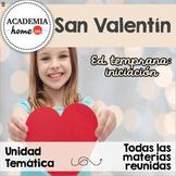 Spanish Worksheets: Unidad especial de San Valentín.