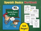 Spanish Basics Workbook for Grades K-2! (MEGA BUNDLE!)