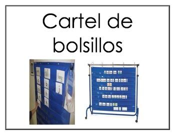 Spanish Workstation posters (Centros de aprendizaje)