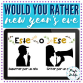 Spanish Would you rather | New Year Game