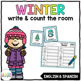 Write & Count the Room {Winter}