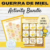 Spanish Writing Activity BUNDLE with Editable templates |