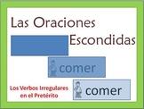 Spanish Writing Activity -Irreg. Preterite (Builds Writing Confidence)