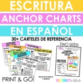 Spanish Writing Anchor Charts