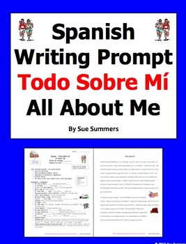 spanish writing assignment and sample essay todo sobre mi all  spanish writing assignment and sample essay todo sobre mi all about me