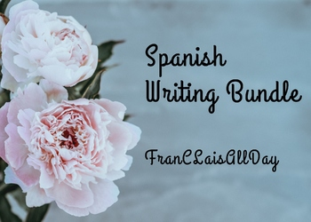 Spanish Writing Bundle
