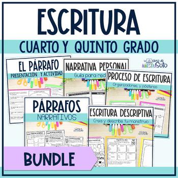 Spanish Writing Bundle | Paquete de recursos de escritura