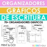 Spanish Writing Graphic Organizers 60 Organizadores
