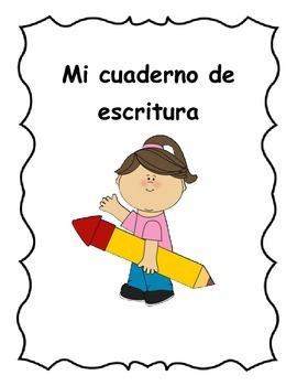 Spanish Writing Journal Covers - Portadas para cuaderno de escritura