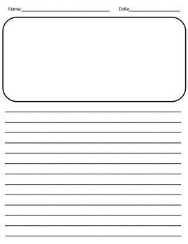 Spanish Writing Paper Template