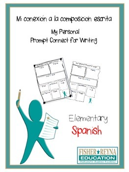 Spanish Writing Prompt Personal Connect - Test Prep Elementary