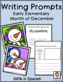 Spanish Writing Prompts December
