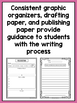 SPANISH Writing Prompts for Second Grade Informational Writing