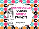 Spanish Writing Prompts for Valentines Day
