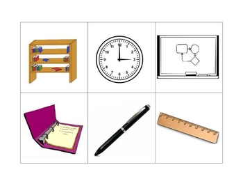Spanish Writing and Spelling Activity with Class Objects