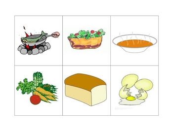 Spanish Writing and Spelling Activity with Food and Drinks
