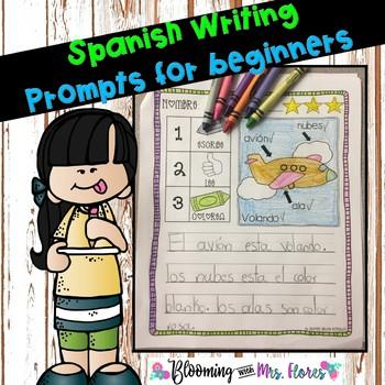 Spanish Writing for beginners