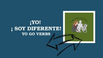 Spanish Yo Go Verbs PowerPoint with Notes and Practice